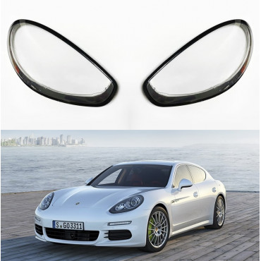 Headlight lens covers OEM (EU Quality) for Porsche Panamera (2014-2017) Facelift