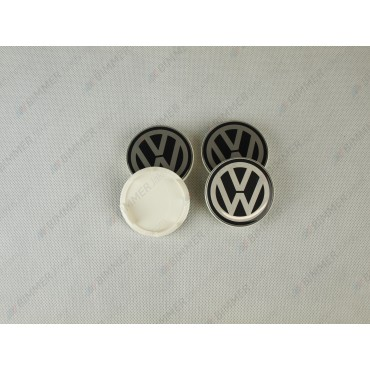 VW Black Center Wheel Caps...