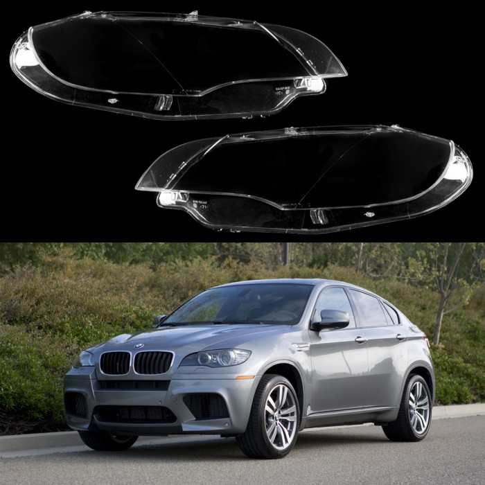 Bmw X6 Youtube: Headlight Lens Plastic Covers