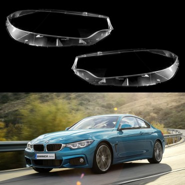 Headlight lens covers OEM (EU Quality) for BMW 4 F32/F33/F36/M4 (2013-2017)