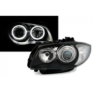 BMW 1 HEADLIGHTS WHITE...