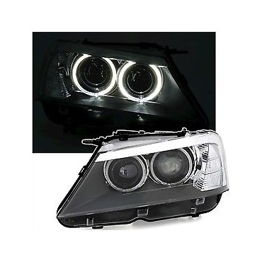 BMW X3 F25 HEADLIGHT ANGEL...
