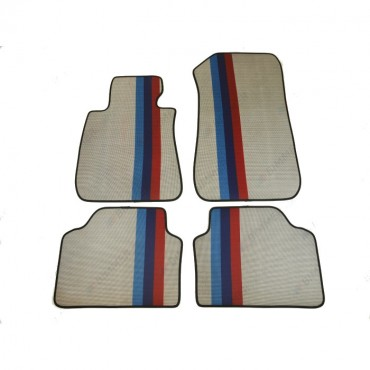 Car floor mats rubber black...