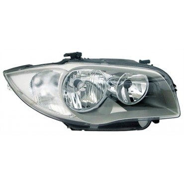BMW 1 HEADLIGHTS SILVER H7...
