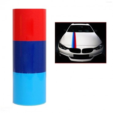 BMW Sticker Tricolor 15x200cm