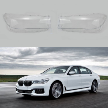 BMW 7 G11 HEADLIGHT LENS COVERS