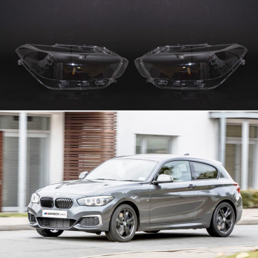 Headlight lens covers OEM (EU Quality) for BMW 1 F20/F21 (2016-2019) Facelift