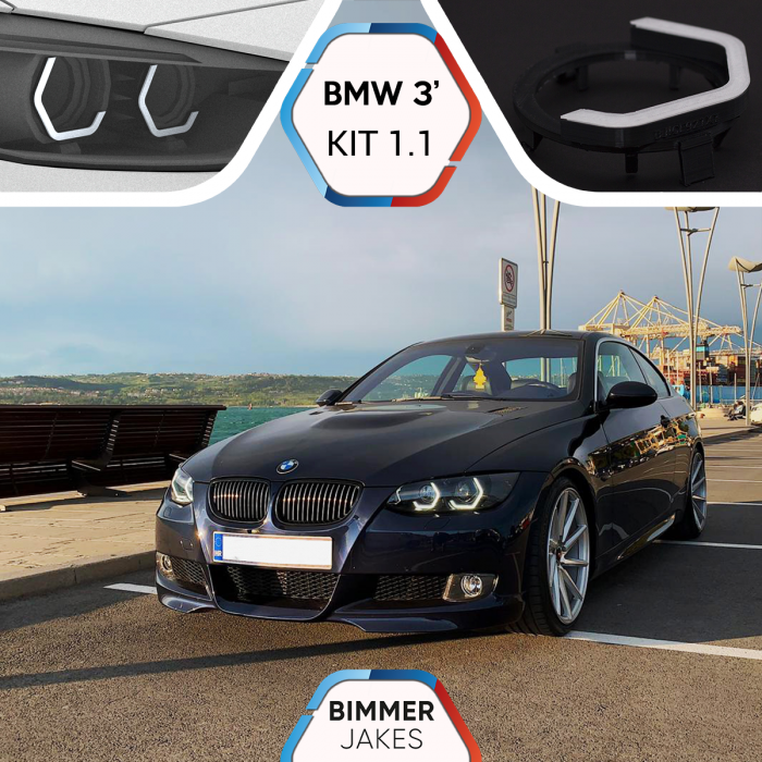 BJ Iconic Lights (KIT 1.1) - BMW 3 E92/E93 Xenon