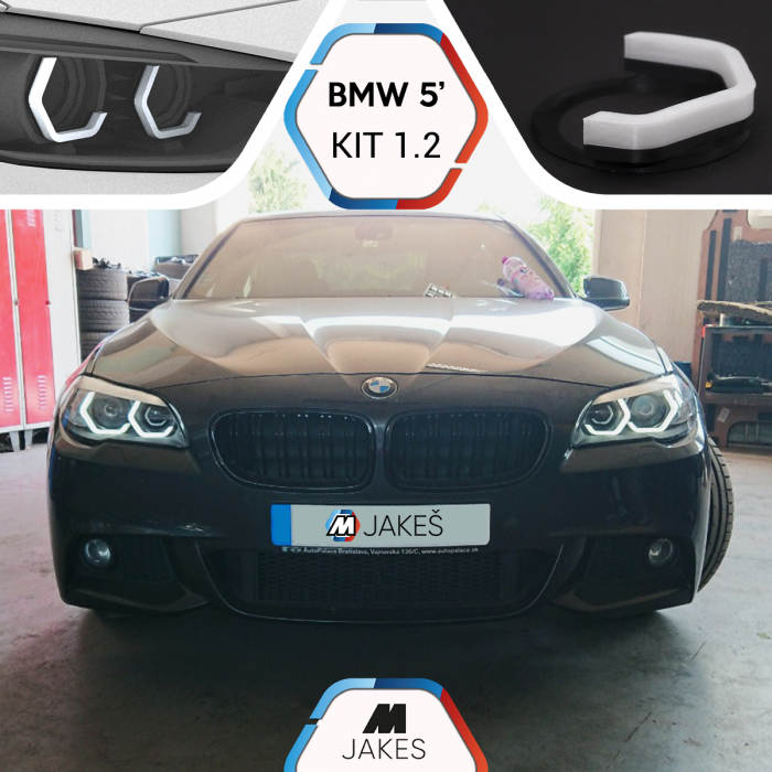 BJ Iconic Lights (KIT 1.2) - BMW 5 F10/ F11 Xenon