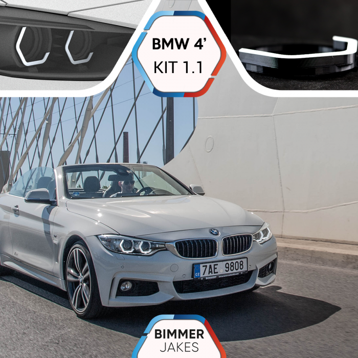 BJ Iconic Lights (KIT 1.1) - BMW 4 F32/ F33/ F36/ M3 F80/ M3 F82/ M3 F83 Xenon