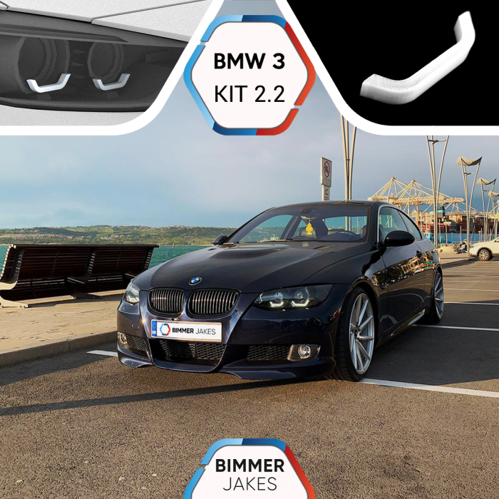 BJ Iconic Lights (KIT 2.2) - BMW 3 E92/E93 Xenon