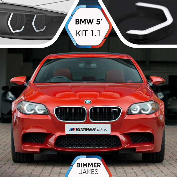 BJ Iconic Lights (KIT 1.1) - BMW 5 F10/F11 Facelift Xenon