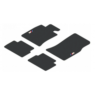 Car floor mats velour black...