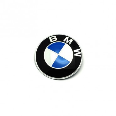 BMW Front Emblem 82mm, Blue...
