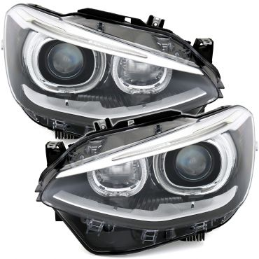 Front headlights for BMW 1...