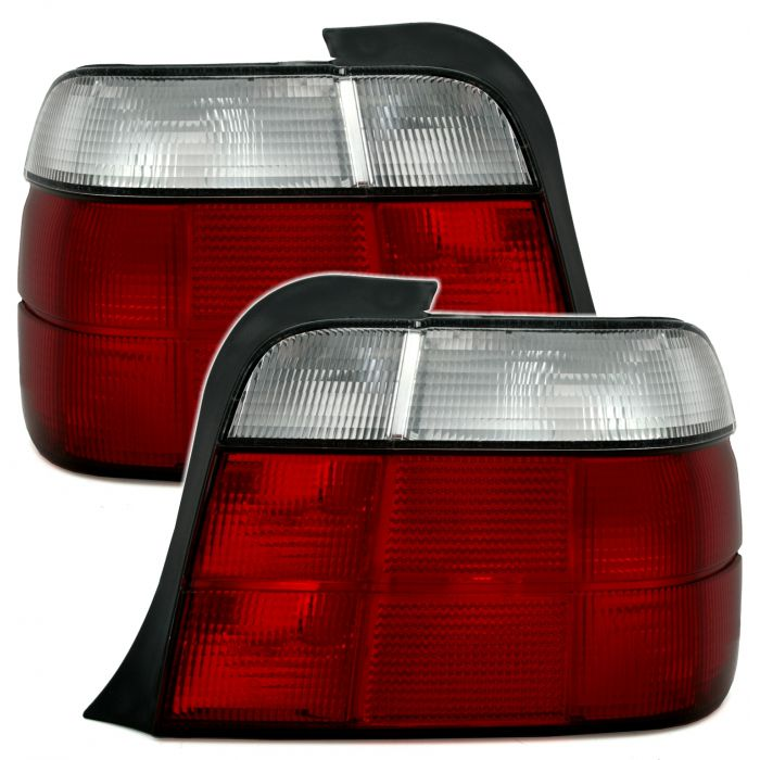 Tail Lights For Bmw E36 Compact Red And White