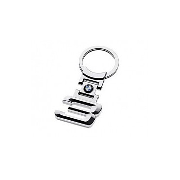 BMW 3 Series Keychain, Metal