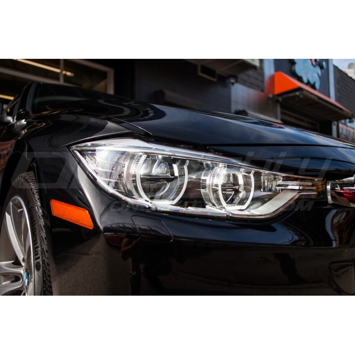 Bmw 3 F30 F31 2011 2018 Led Headlight Lens Covers Left Right Pair