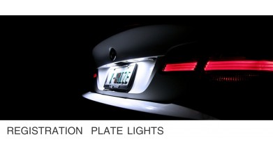 License Plate Lights