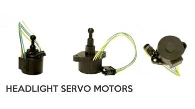 Servomotors for Headlights